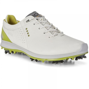 ECCO MEN GOLF BIOM G2 WHITE/KIWI